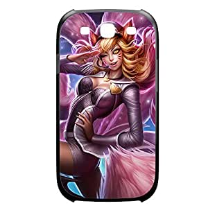 Ahri-002 League of Legends LoL HTC One M7 Plastic Black