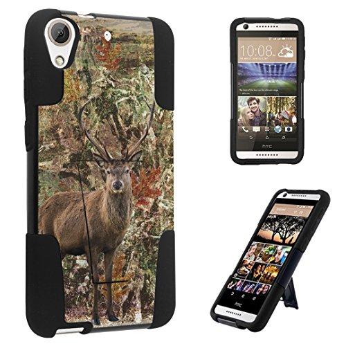 DuroCase ® HTC Desire 626s / HTC Desire 626 (Released in 2015) Kickstand Bumper Case - (Hunter Deer Camo) (Htc Desire T Mobile Phone)
