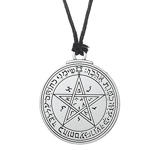- Powerful Talisman of Venus Love Pentacle Solomon Seal Necklace Kabbalah Pendant Pagan Wiccan Jewelry