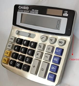 amazoncom mini hidden calculator camera vedio recorder built in 4gb dvr security pin hole camera spy cameras camera photo