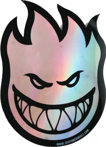 Spitfire Fireball Prism Md Decal Single