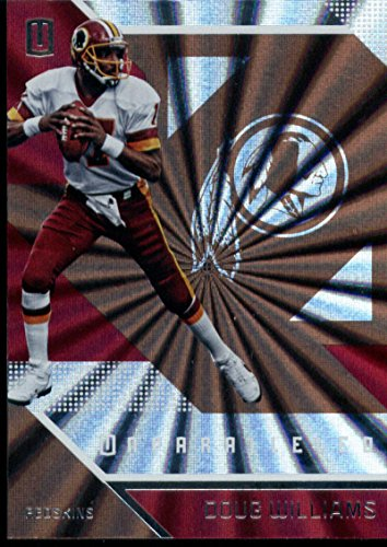 2016 Unparalleled Football #130 Doug Williams Washington Redskins Official NFL Trading Card Produced By Panini