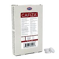 Urnex Cafiza Espresso Machine Cleaner Tablets, Blister Pack (32 comprimidos de 2 g)