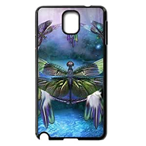 Brightly Painting Art Dragonfly Hard Snap-on s Diy For SamSung Galaxy S5 Case Cover