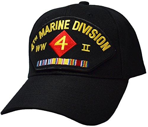 4th Marine Division World War II Veteran Cap (Marine Hat Division)