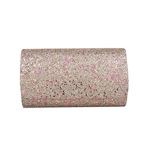 Haute Glitter Clutch Diva Women for Bag Sparkling Colours Black rnIrUqg1