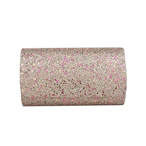 Clutch Bag Haute Black for Colours Sparkling Diva Women Glitter wnBaR6q