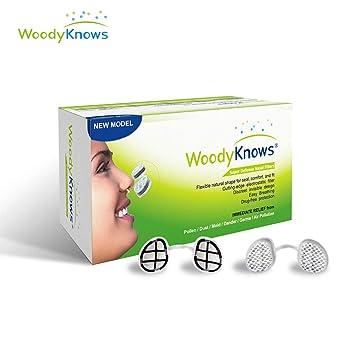 WoodyKnows Super Defense Nasal Filters, Allergy Relief, Block Inhaled  Allergens, Pollen, Dust, Pet Hair, Dander, Pollution PM2 5 Alternative to  Nasal