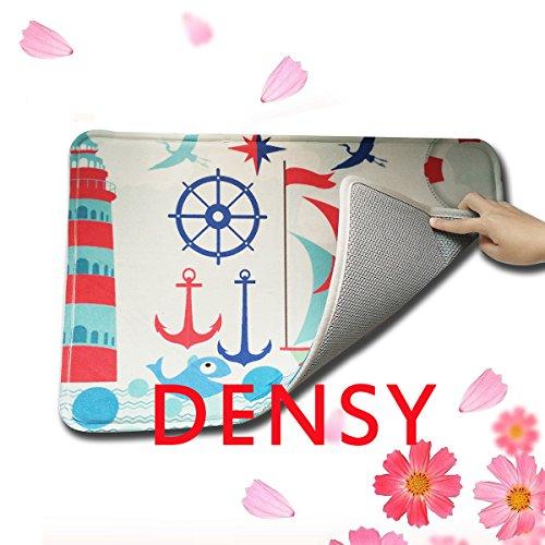 Densy Nautical Anchor Indoor Outdoor Doormat Rug