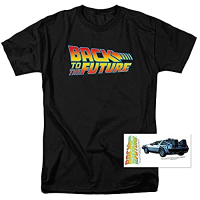 Back to The Future T-Shirt and Exclusive Stickers