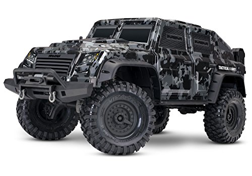 Price comparison product image Traxxas 1 / 10 Scale Trx-4 Tactical Unit RC Crawler with 2.4GHz Tqi Radio