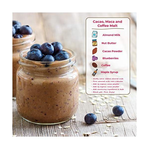 Polvere di Cacao Crudo Bio di TheHealthyTree Company per Yogurt, Frullati e Ricette da Forno - Alto Contenuto di… 5 spesavip