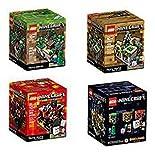 (US) LEGO Minecraft Set Lego Minecraft Collection 4 Set [21102, 21105, 21106, 21107]