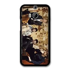 Mumford & Sons K0X2OG3K Caso funda HTC One M8 Caso funda del teléfono celular Negro
