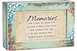 Cottage Garden Memories a Way to Hold Love Distressed Wood Jewelry Music Box Plays Tune Edelweiss