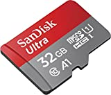 Sandisk Ultra 32GB Micro SDHC UHS-I Card with Adapter - 98MB/s U1 A1 - SDSQUAR-032G-GN6MA