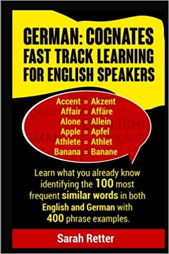 German: Cognates Fast Track Learning for English Speakers