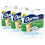 Charmin Sensitive Toilet Paper, Bath Tissue, Mega Roll, 18 Count