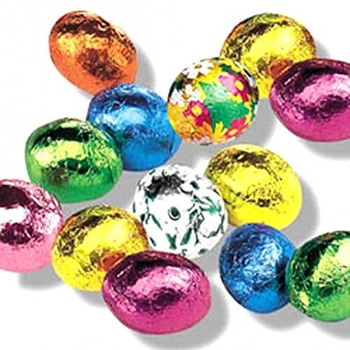 Italian Chocolate Easter Eggs - Premium Madelaine Milk Chocolate Easter Eggs - 1 Pound