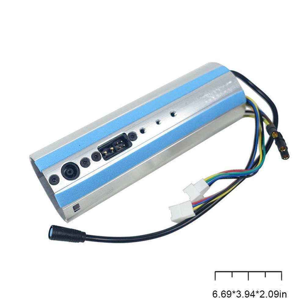 El Tablero El/éctrico de la Vespa El/éctrica Plegable Parte el Equipo de la Placa Madre Conveniente para Kickscooter Ninebot Es1 Es2 Es4