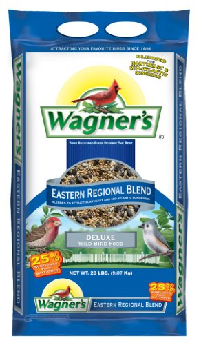 Bird Seed Bag - Wagner's 62004 Eastern Regional Blend, 20-Pound Bag