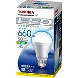 東芝 E-CORE(イー・コア) LED電球 一般電球形7.1W(口金直径26mm・660ルーメン・昼白色) LDA7N-H