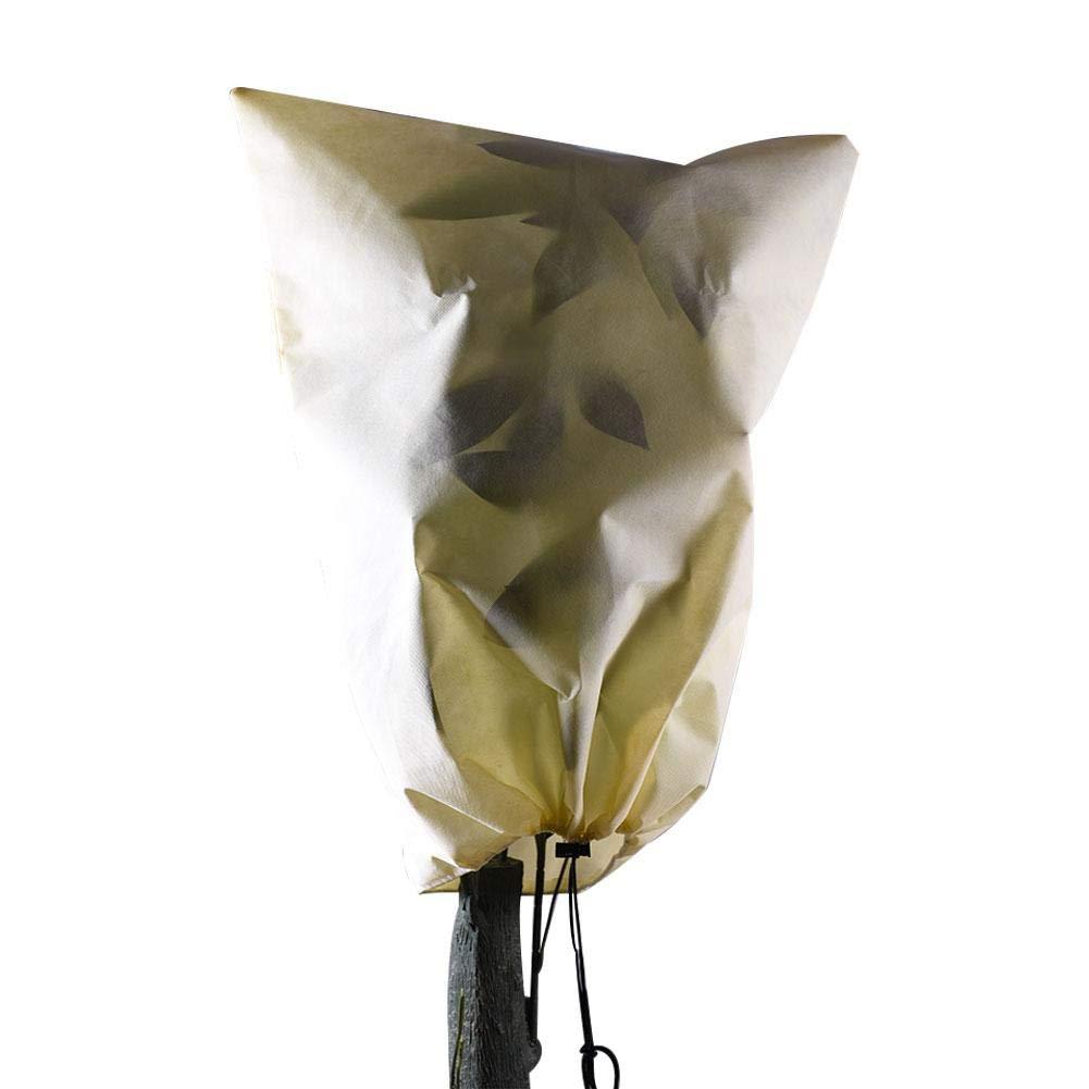 Neckip Funda de tela no tejida resistente a las heladas - Cubierta de á rbol - Bolsa protectora para plantas - Protector de planta de invierno Winter