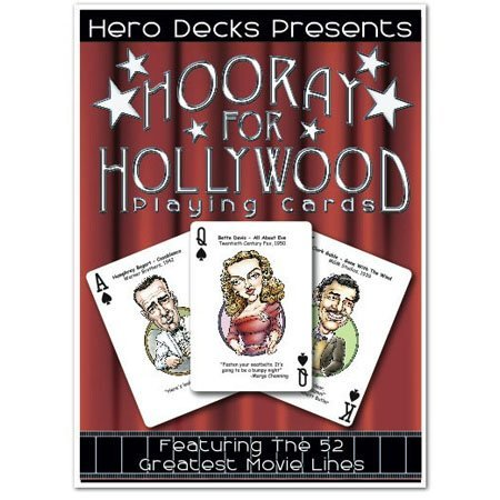 Channel Craft Hero Decks - Hooray for Hollywood - Playing Cards