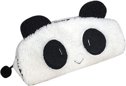 cosanter Boutique venta estuche Niedlich Panda lápiz bolsa estuche de peluche creativos estudiantes multifunción lápiz Lovely lápiz caso de maquillaje up funda cartera para niña: Amazon.es: Oficina y papelería