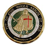 Armor of God Diestruck Enamel Challenge Coin (Value Pack)