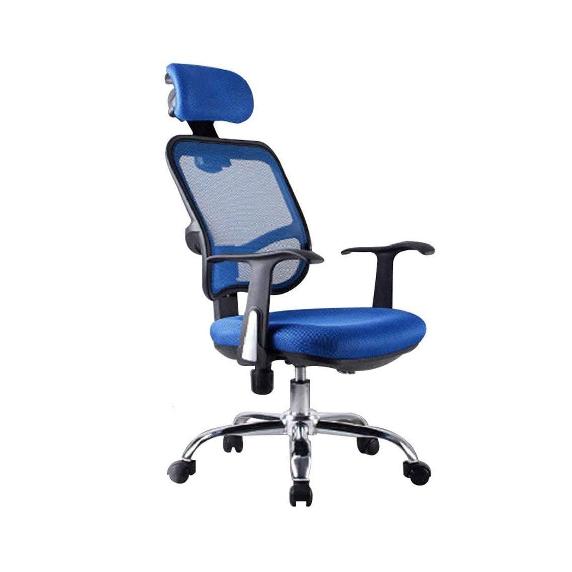 YQJJZX Asiento de la computadora, sillas de Oficina con Respaldo ...