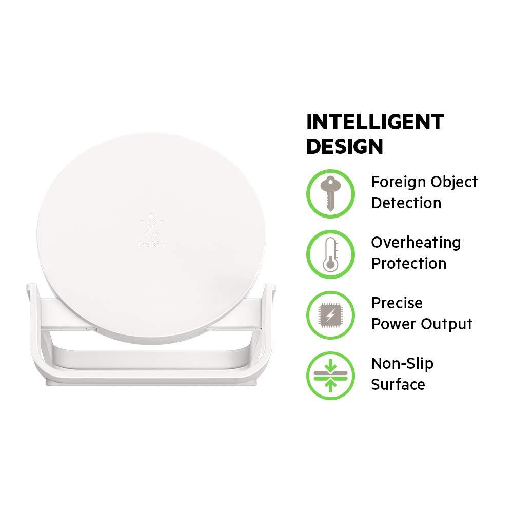 Amazon.com: Boost Up - Soporte de carga inalámbrico, 10W soporte