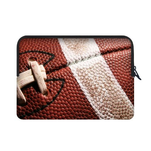 Specially Designed 15.6 Inch American Football Theme Portable Laptop Carrying Case Sleeve Bag for Macbook, Macbook Air/Pro 15.6