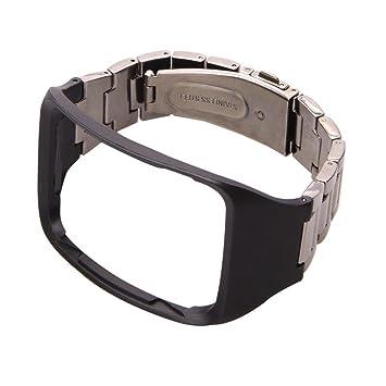 For Samsung Gear S SM-R750 ,Ouneed ® Del metal del acero ...