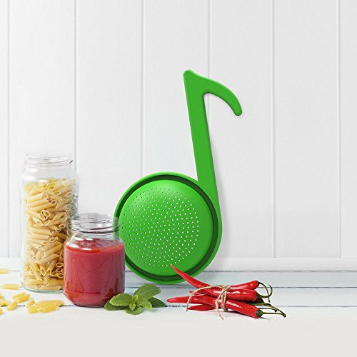 Dr. Drain Colander by Rocket Design. Designed in Italy. Great Musical -