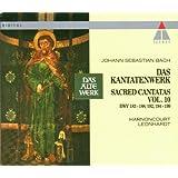 Bach: Sacred Cantatas, Vol 10 (BWV 183-188, 192, 194-199) / Harnoncourt