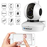 Wireless Camera, Baby Monitor IP Camera WiFi Surveillance Camera HD 720P Nanny Cam with Pan Tilt Motion Detection Two Way Audio and Night Vision for Home Security System Vstarcam C7823WIP
