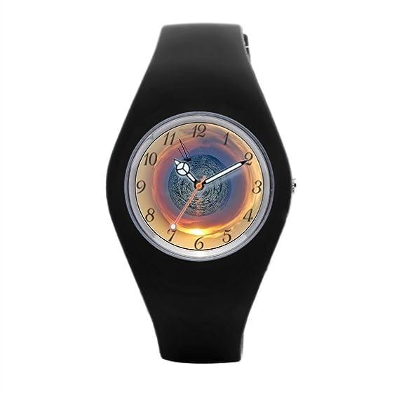 Planeta Mar mejor muñeca relojes para hombres Deportes Relojes para las mujeres: Amazon.es: Relojes