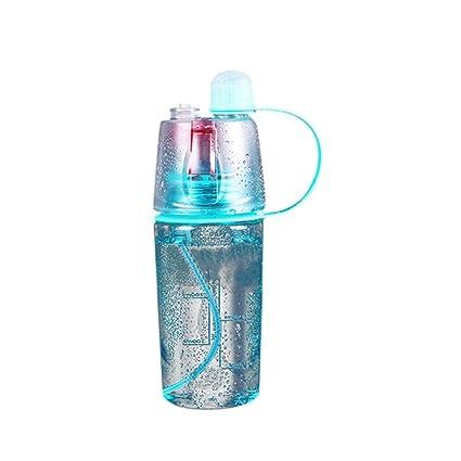 botellas agua deporte running plastico Sannysis botellas de pulverizacion Frascos de spray botellas agua reutilizables niños