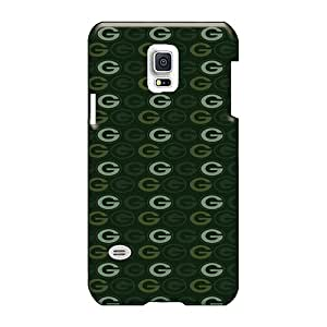 JamieBratt Samsung Galaxy S5 Mini Scratch Protection Mobile Case Custom Stylish Green Bay Packers Series [zTt5630dcNG]