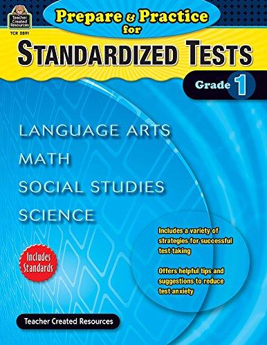 Prepare & Practice for Standardized Tests Grade 1 (Prepare and Practice for Standardized - Achievement Standardized Test