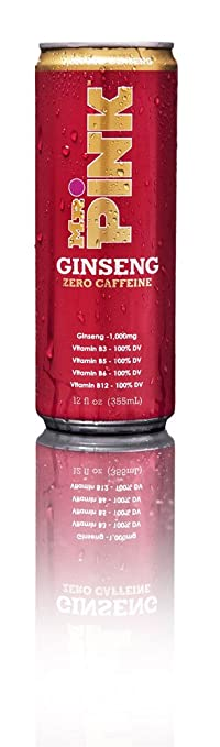 Mr. Pink Ginseng Drink Red