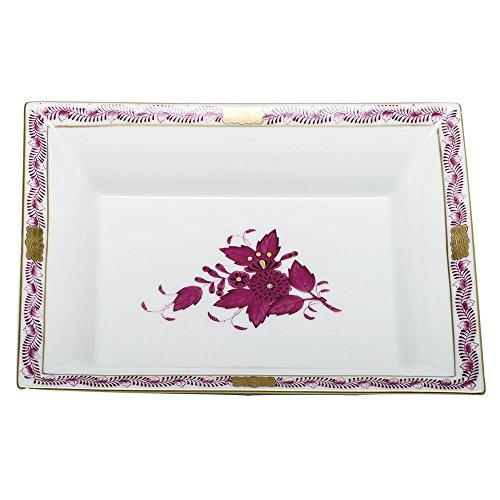 Chinese Raspberry Bouquet - Herend China Jewelry Tray Chinese Bouquet Raspberry