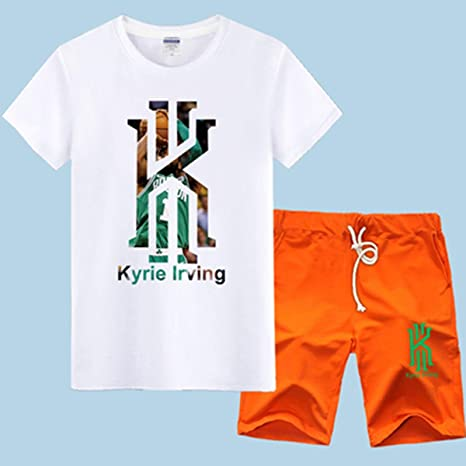 T-SHIRT Jersey De La NBA Conjunto Boston Celtics Kyrie Irving ...