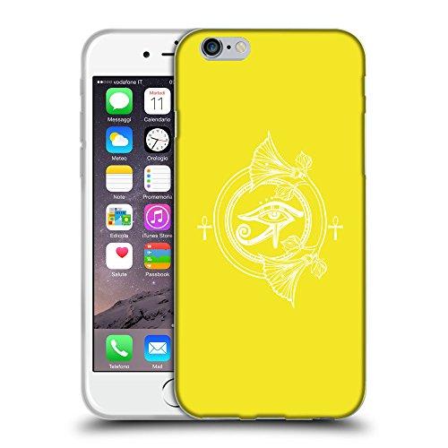 """GoGoMobile Coque de Protection TPU Silicone Case pour // Q09860625 Religion 26 Jaune canari // Apple iPhone 6 PLUS 5.5"""""""