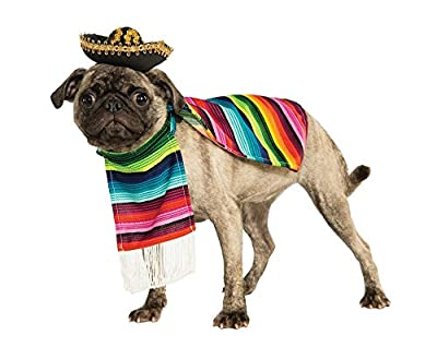 Pet Mexican Poncho