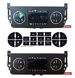 AC Dash Button Repair Kit,Adhesive AC Dash Button