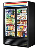 True GDM-45-HC-LD Sliding Glass Door Merchandiser Refrigerator with Hydrocarbon Refrigerant and LED Lighting, Holds 33 Degree F to 38 Degree F, 78.625' Height, 29.875' Width, 51.125' Length