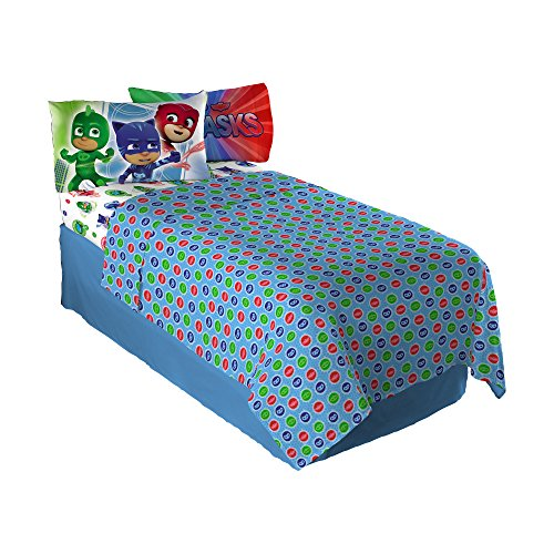 Price comparison product image Entertainment One PJ Masks on Our Way Full Sheet Set
