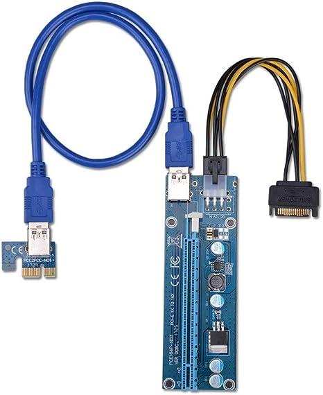 PCI-E X1 to X1 USB3.0 GPU Extender Riser Adapter Plug and Play
